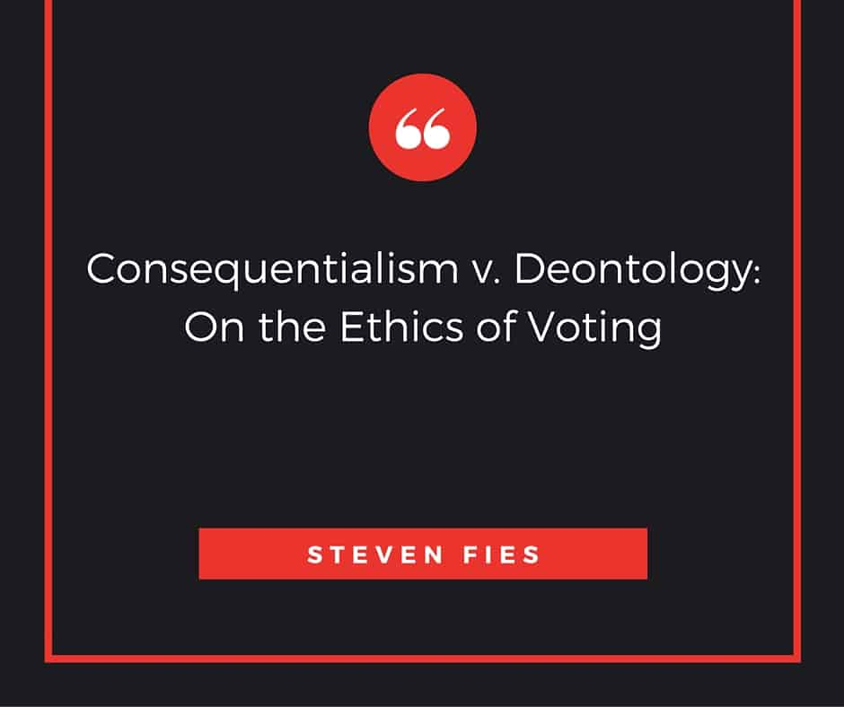 consequentialism vs deontology essay Free essay: consequentialism and non-consequentialism are both action based   of non-consequentialism are natural rights, social contract, deontology and.
