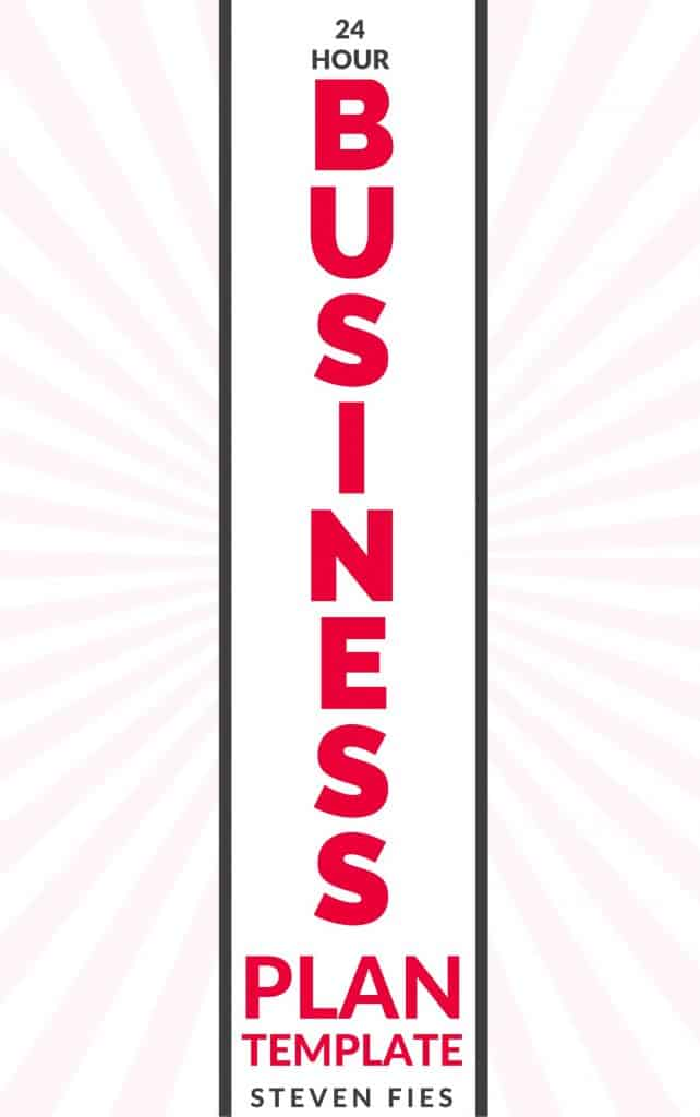Business Plan Template - Clean